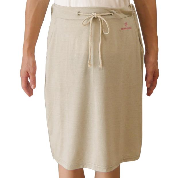 放射電磁波シールドスカート(銀繊維ファブリック)