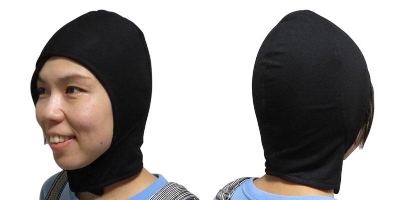 頭部から首部まで防護