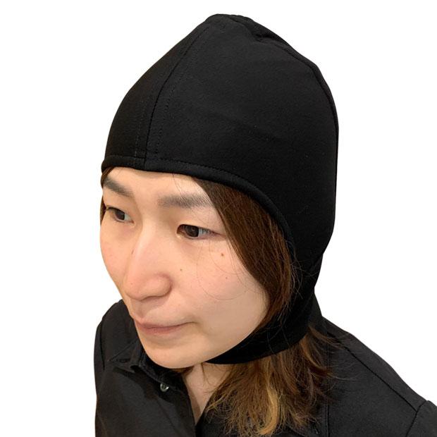 頭部~首部に受ける放射電磁波を防止/遮蔽します